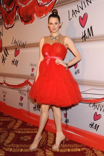 Gwiazdy na pokazie Lanvin for H&M