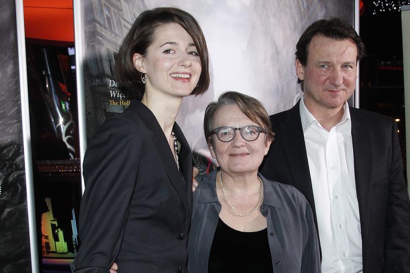 Agnieszka Grochowska, Agnieszka Holland, Robert Więckiewicz