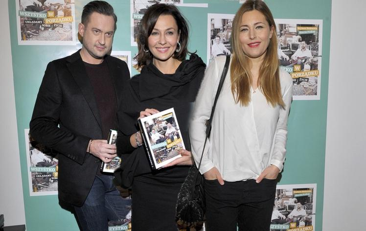 """Gwiazdy na premierze książki Szymona Hołowni i Marcina Prokopa """"Wszystko w porządku. Układamy sobie życie"""""""