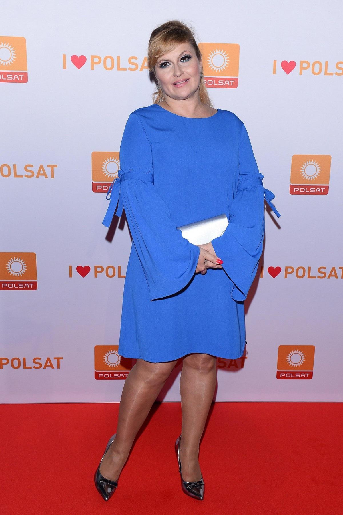 Katarzyna Skrzynecka na wiosennej ramówce Polsatu