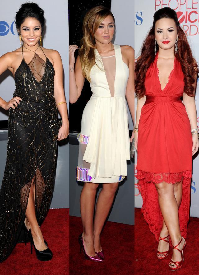 Vanessa Hudgens, Miley Cyrus, Demi Lovato