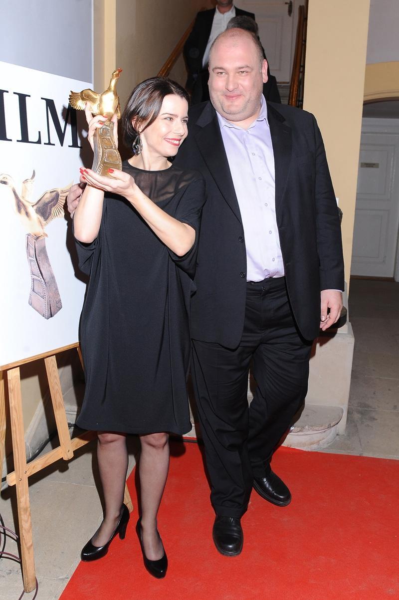 Agata Kulesza i Michał Piela