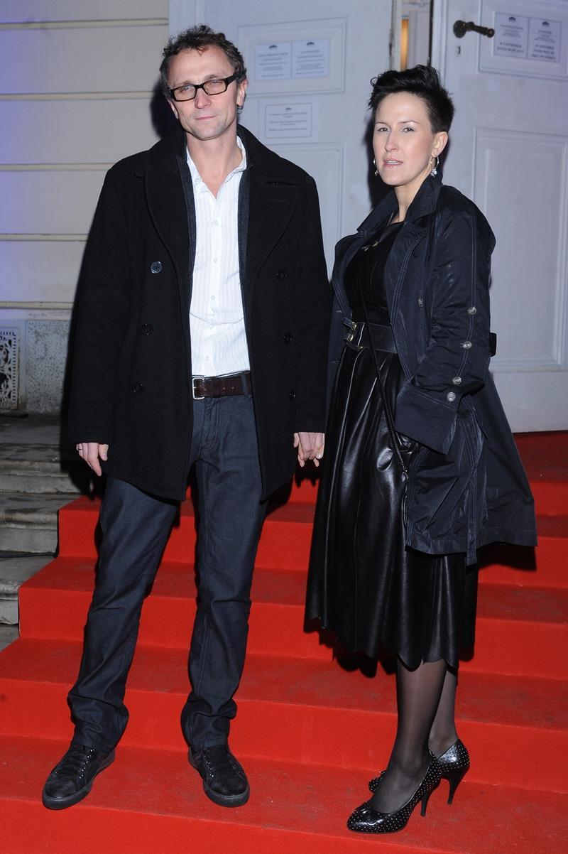 Leszek Dawid i Anna Kazejak