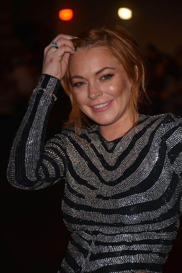 GQ Men of the Year Awards 2014: Lindsay Lohan