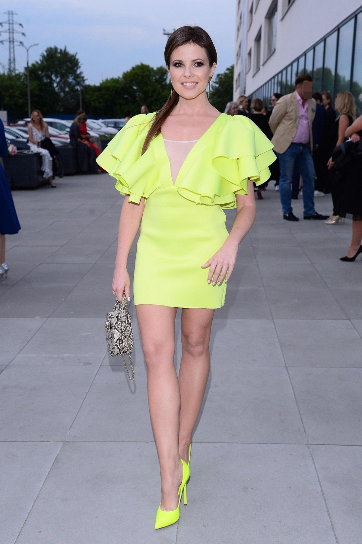 Paulina Koziejowska na Gali Fashion Designers Awards