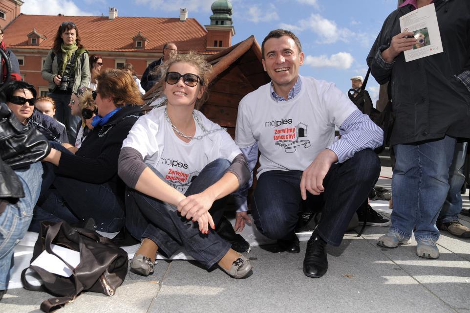 Anna Powierza, Wojciech Olejniczak