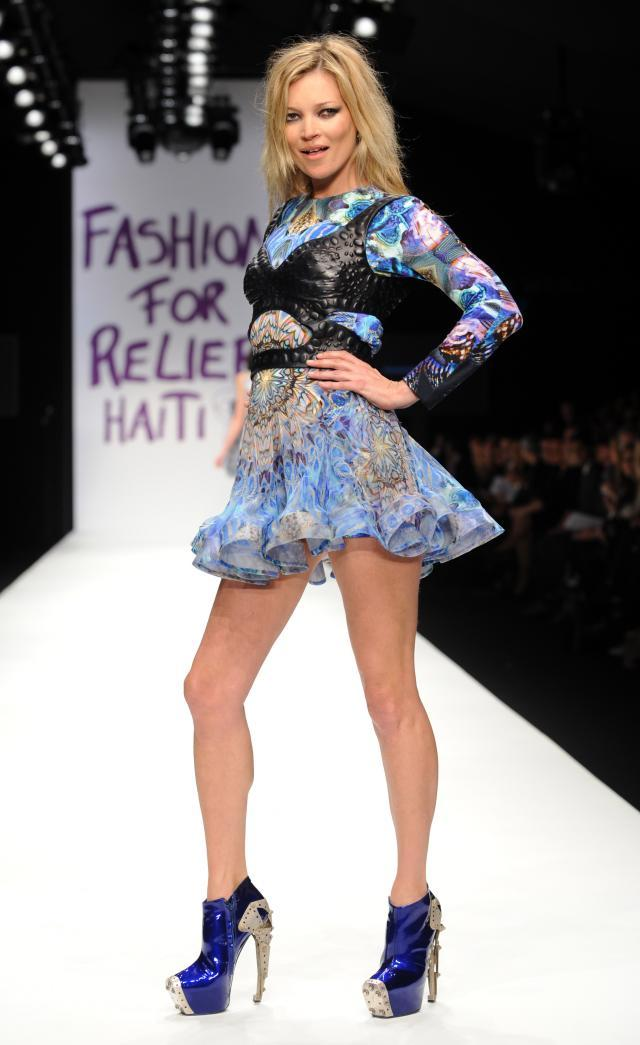 Kate Moss, Fashion for Haiti relief