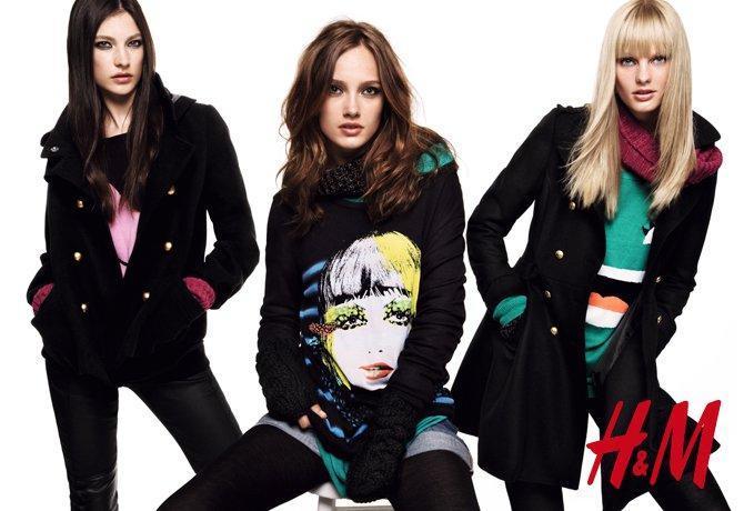 H&M, DIVIDED, kolekcje jesień/zima 2010/2011, dzianina, swetry