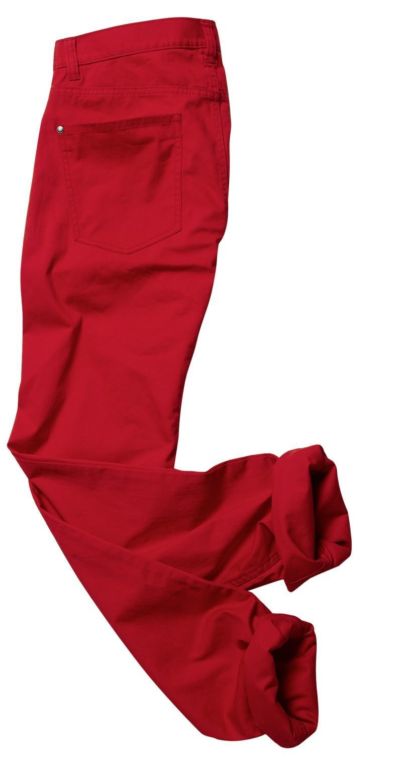 czerwone spodnie H&M - kolekcja wiosenno/letnia