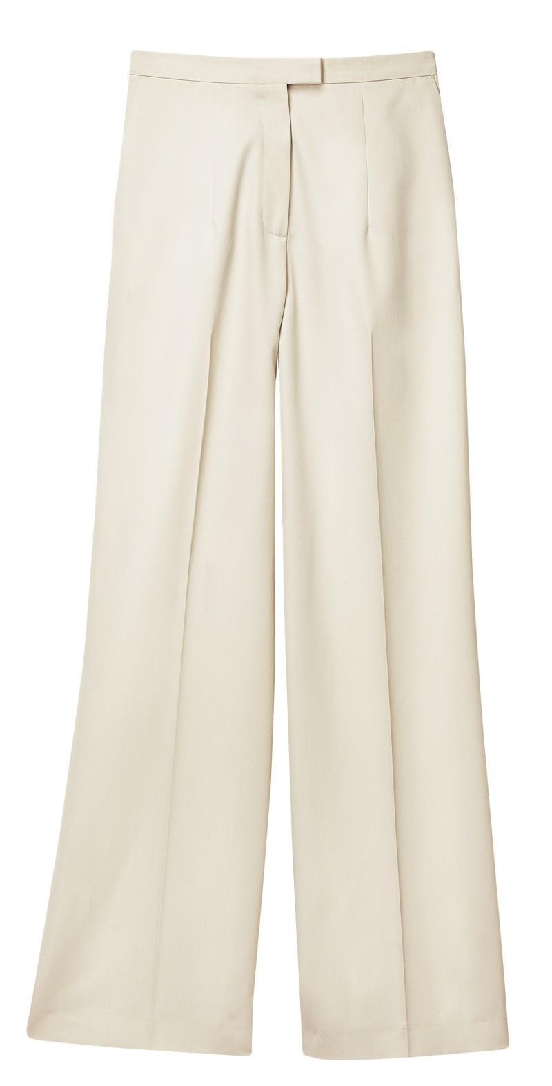 białe spodnie H&M - kolekcja wiosenno/letnia