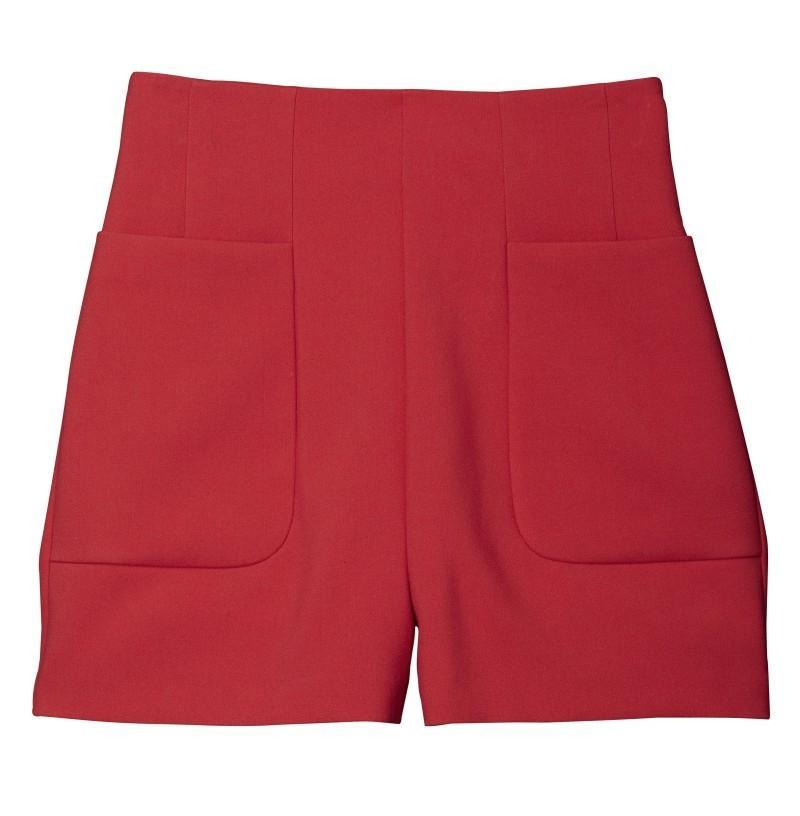 czerwone szorty H&M - wiosna/lato 2011