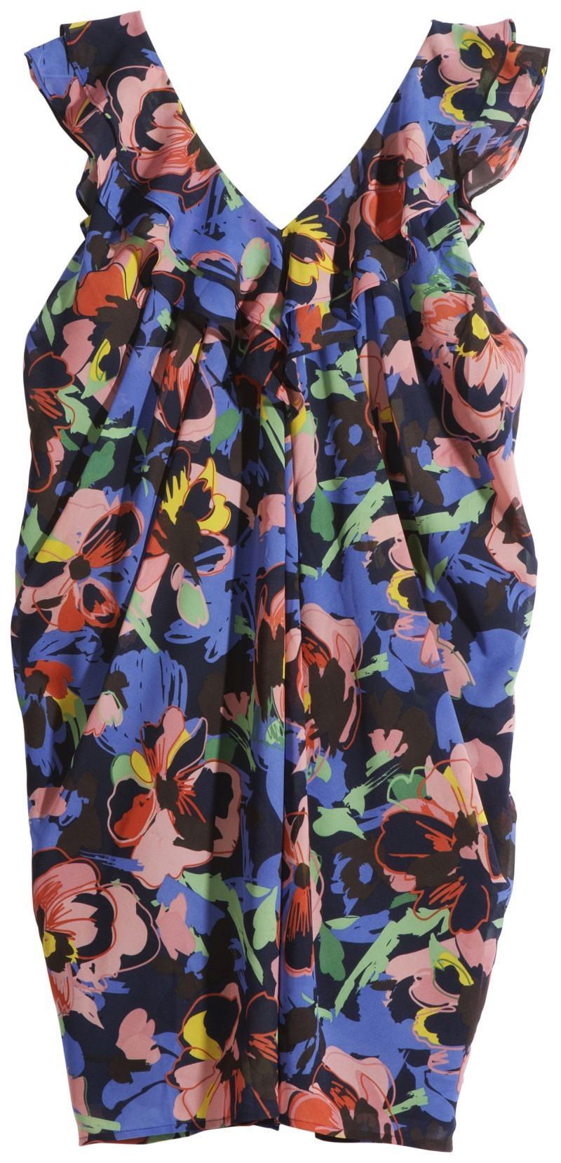kolorowa bluzka H&M - wiosna/lato 2011