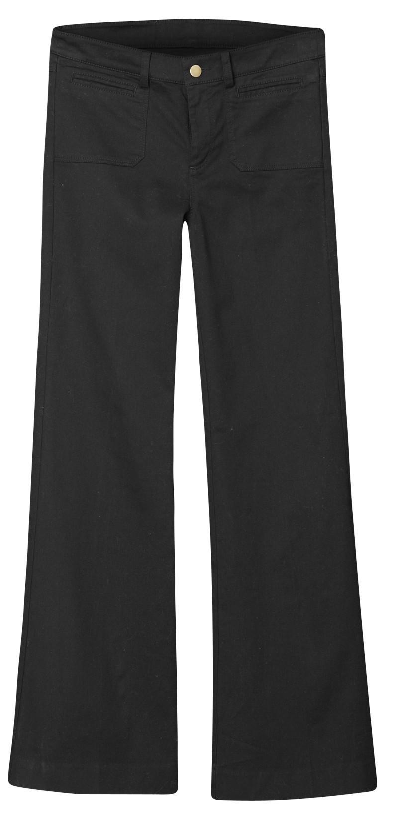 czarne spodnie H&M - kolekcja wiosenno/letnia