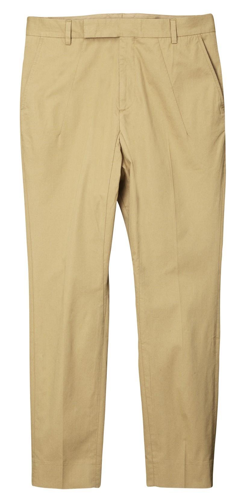 beżowe spodnie H&M - kolekcja wiosenno/letnia