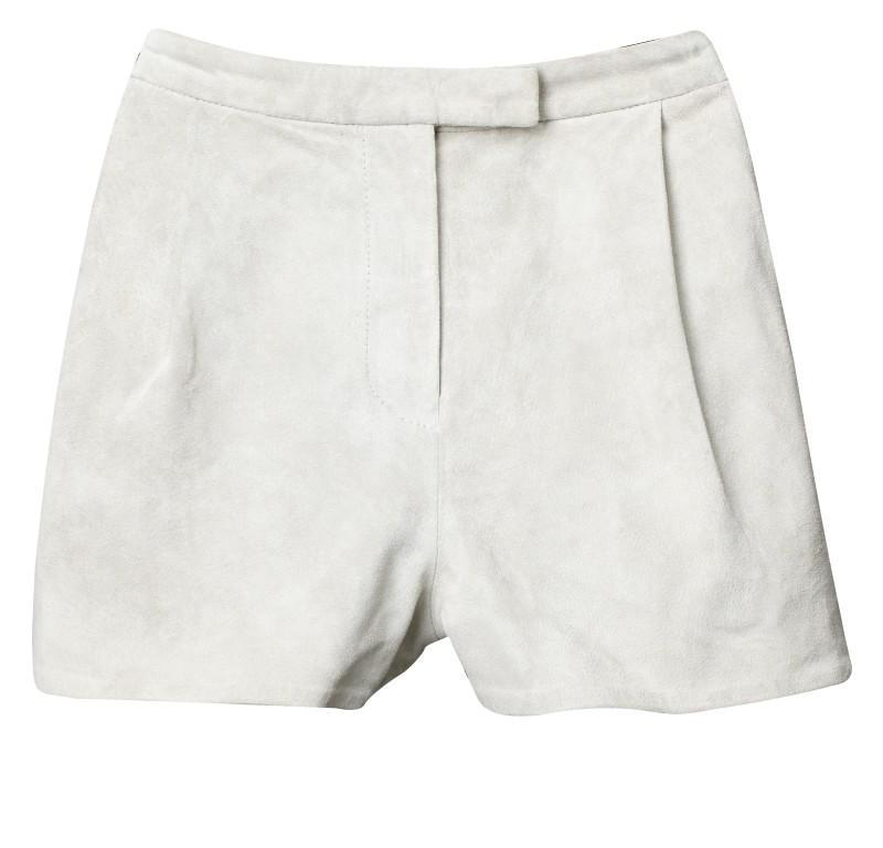 białe szorty H&M - kolekcja wiosenno/letnia