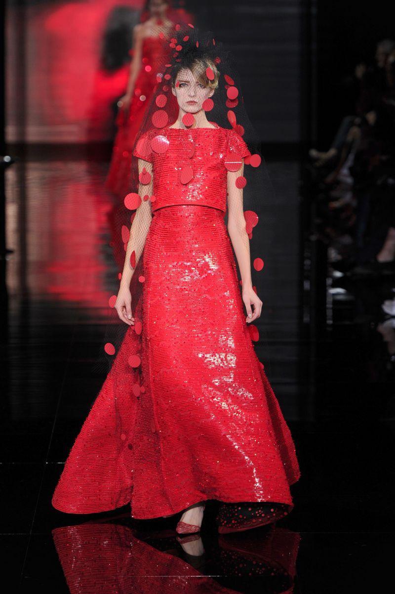 Giorgio Armani haute couture jesień 2014