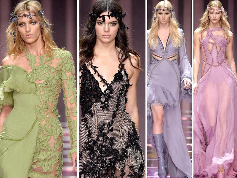 Atelier Versace - kolekcja haute couture jesień 2015