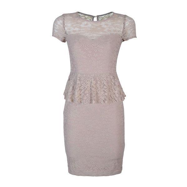 Szara sukienka z baskinką Bonprix, cena nprix_938701-119_90zl.jpg