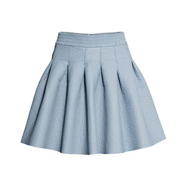 Rozkloszowana spódnica mini H&M, cena