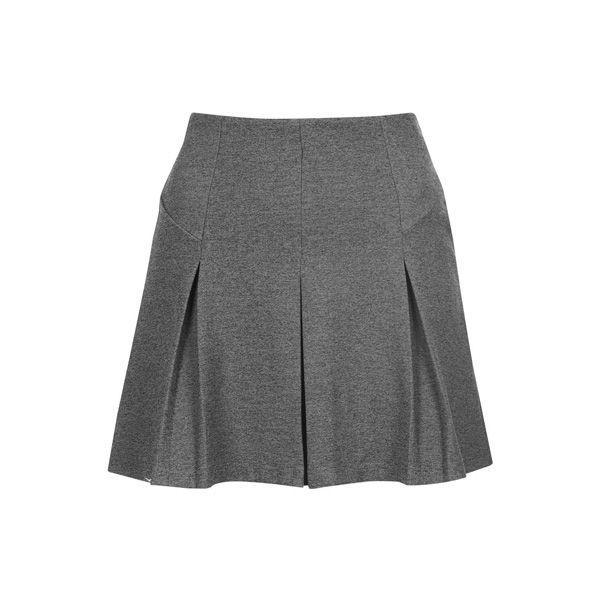 Rozkloszowana spódnica mini Topshop, cena