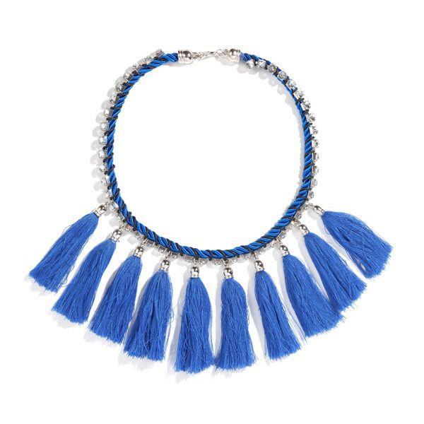 Niebieski naszyjnik Sinsay, cena