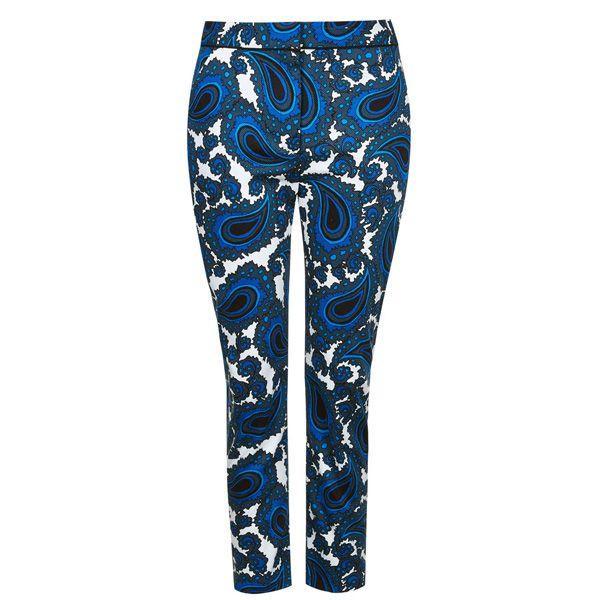 Niebieskie spodnie Topshop, cena