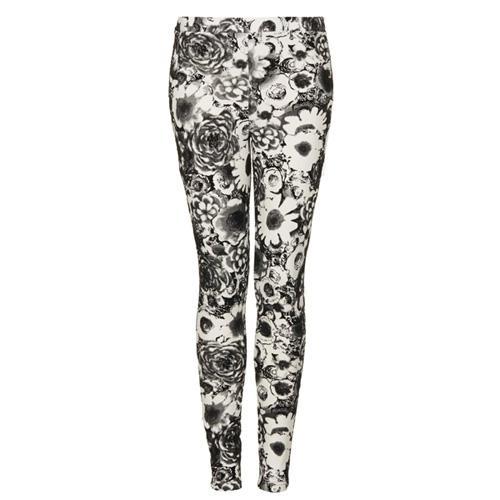 Modne wzory 2014, spodnie w kwiaty, Topshop