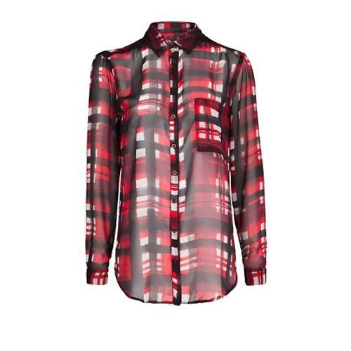 Modne wzory 2014, koszula w kratę, Mango