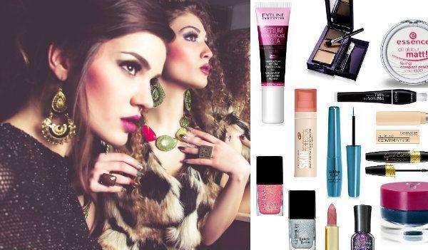 kosmetyki do makijażu, najlepsze kosmetyki, kosmetyki na karnawał 2016