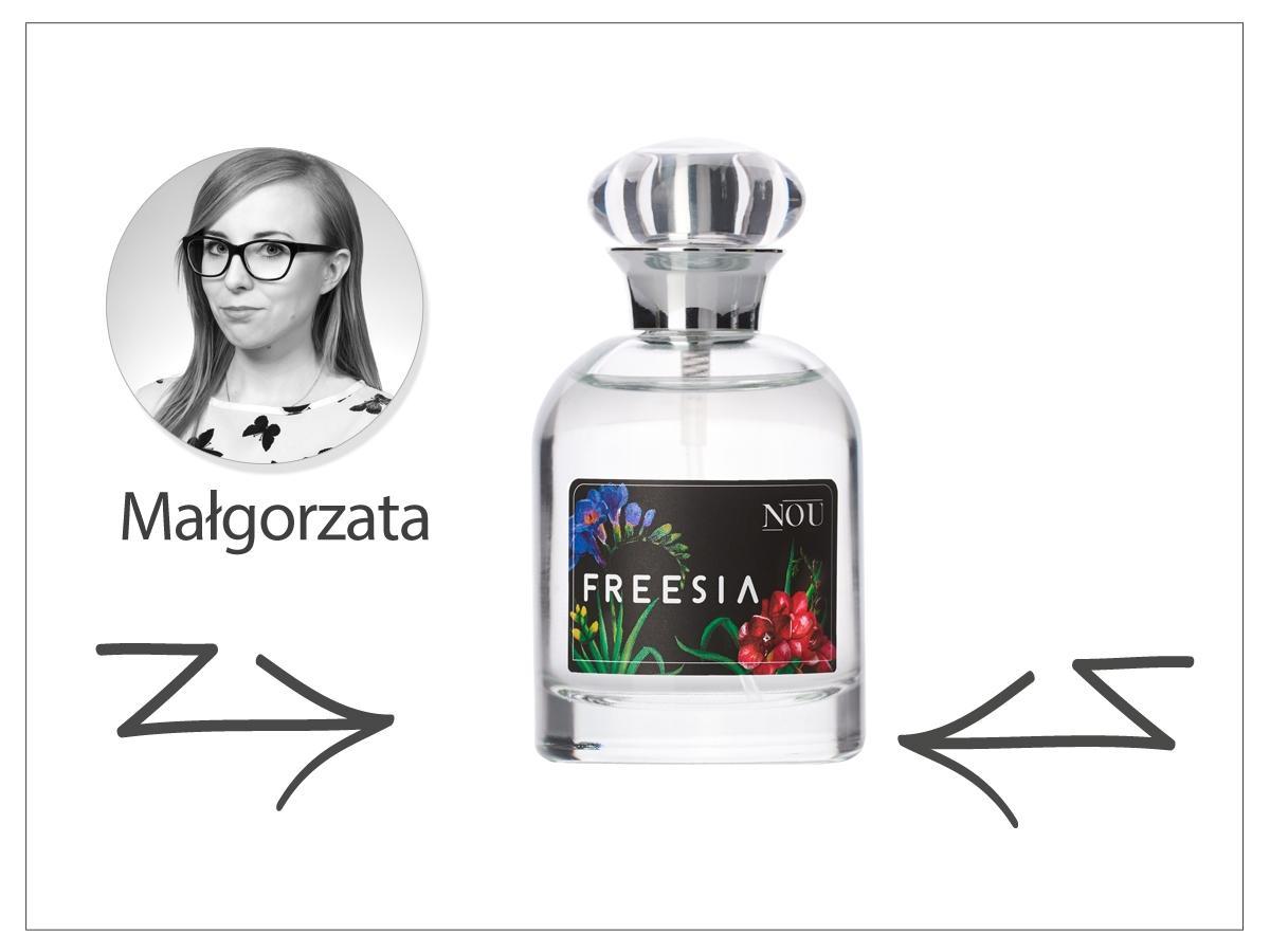 Woda perfumowana NOU Freesia – ok. 69 zł/50 ml.
