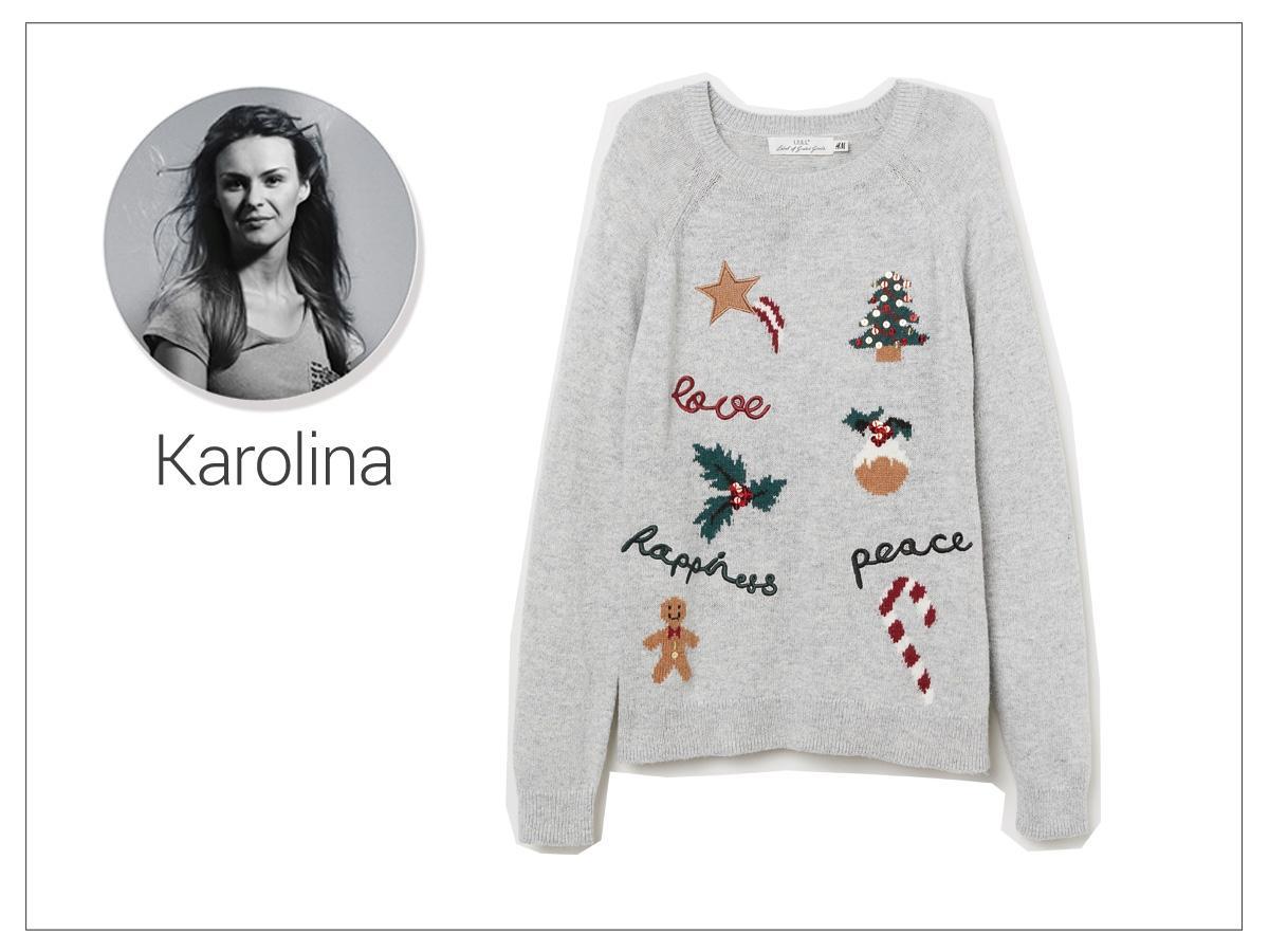 Świąteczny sweter H&M, cena