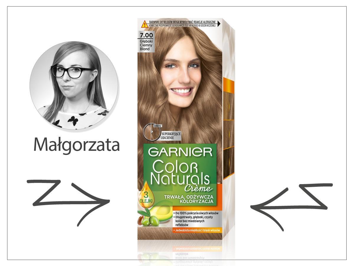 Farba do włosów GARNIER COLOR NATURALS, cena ok. 15,99 zł