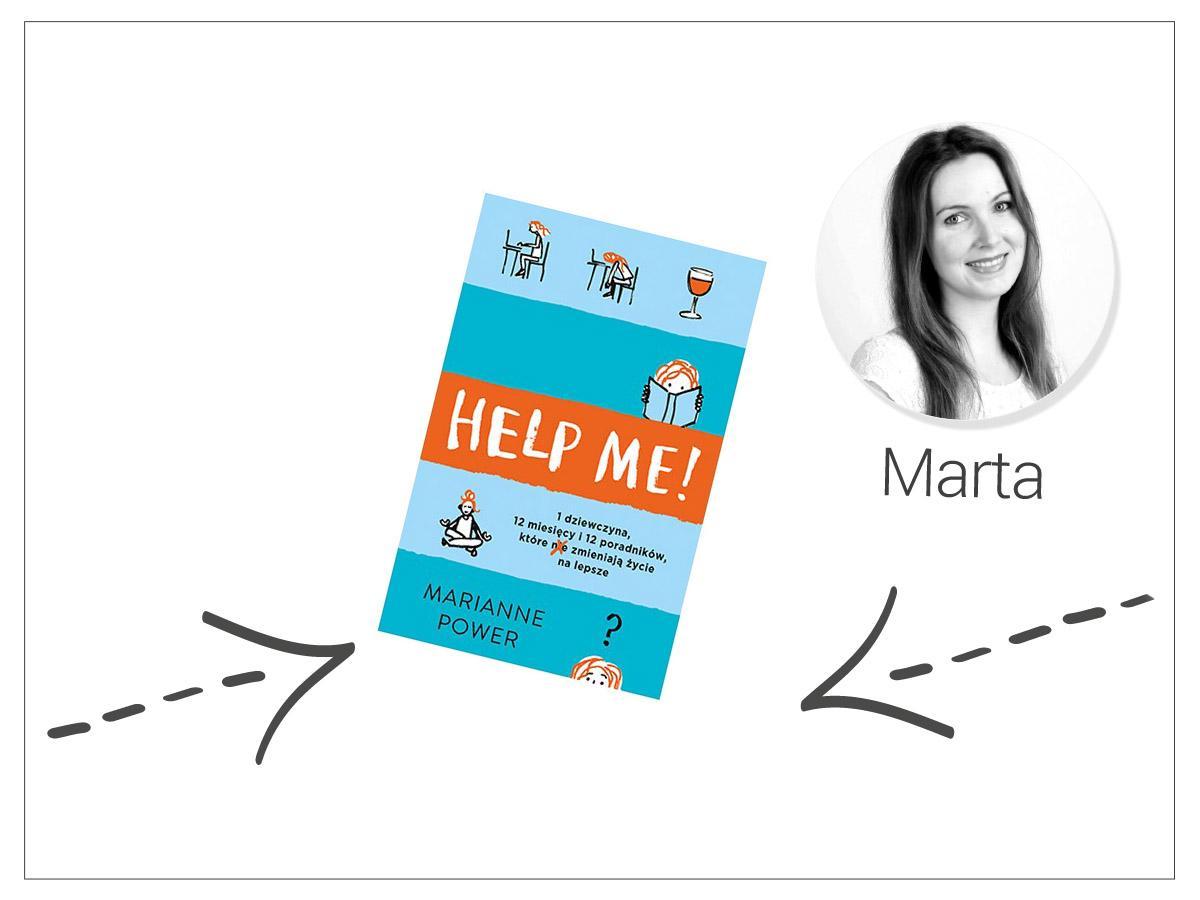 """Książka """"Help me"""" autorstwa Marianne Power, cena ok. 30 zł.jpg"""