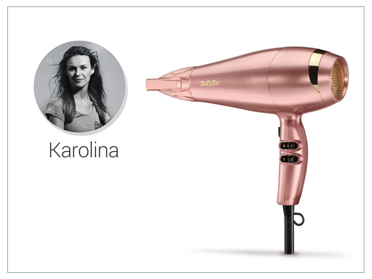 Suszarka do włosów w kolorze różowego złota BaByliss, cena