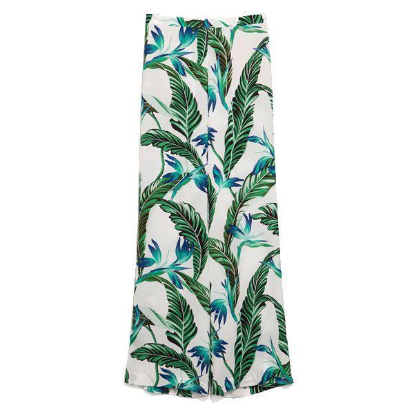 Wzorzyste spodnie, Zara, cena