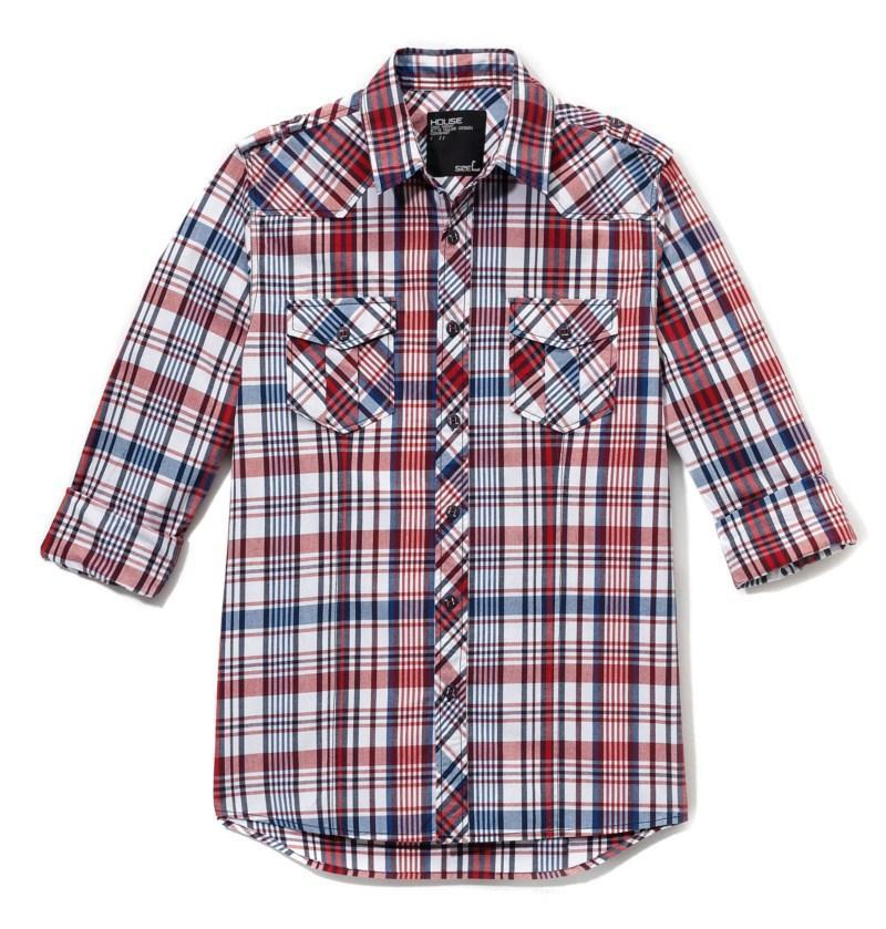 koszula House w kratkę - moda jesień/zima 2010