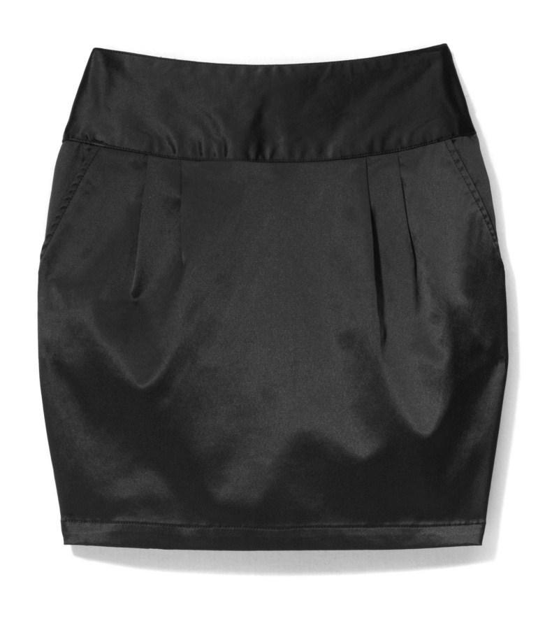 czarna spódnica House