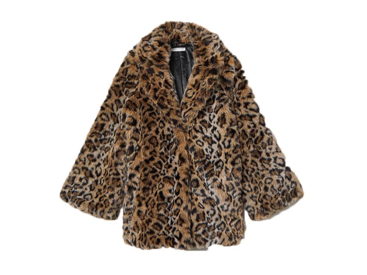 Płaszczyk w panterkę, H&M, cena ok. 299,00 zł
