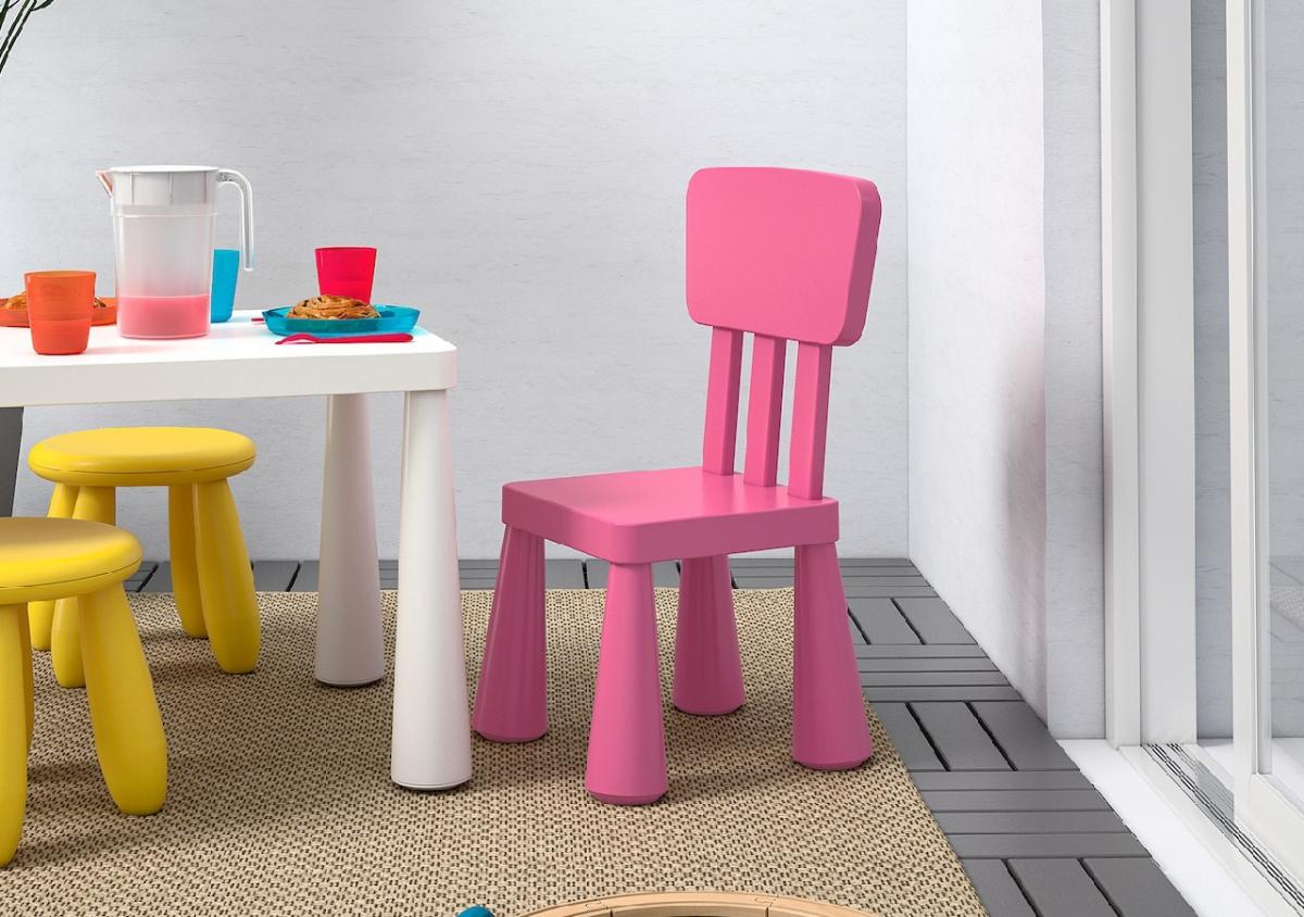Krzesło Ikea mammut