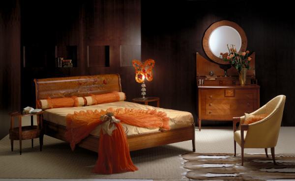 Wyjątkowe łóżko z drewnanią ramą -Patt Mebel na 2013