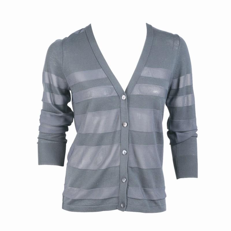 szara bluzka Jackpot rozpinana - trendy na jesień-zimę