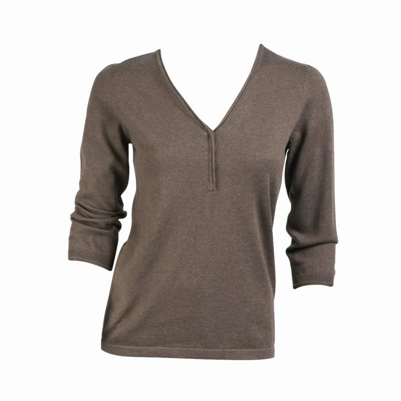 brązowy sweter Jackpot - sezon jesienno-zimowy