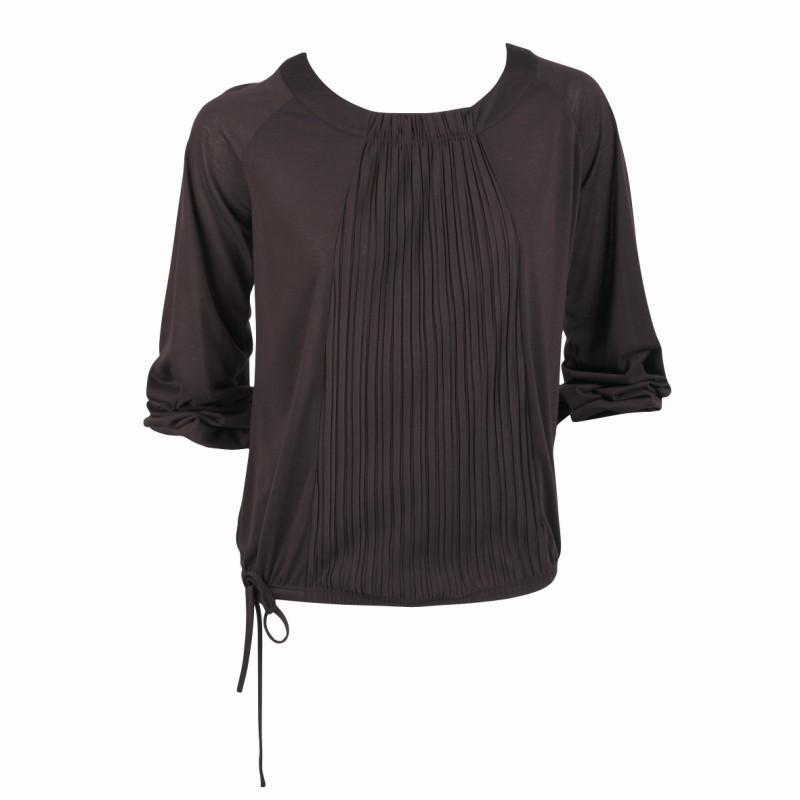 brązowa bluzka Jackpot - z kolekcji jesień-zima
