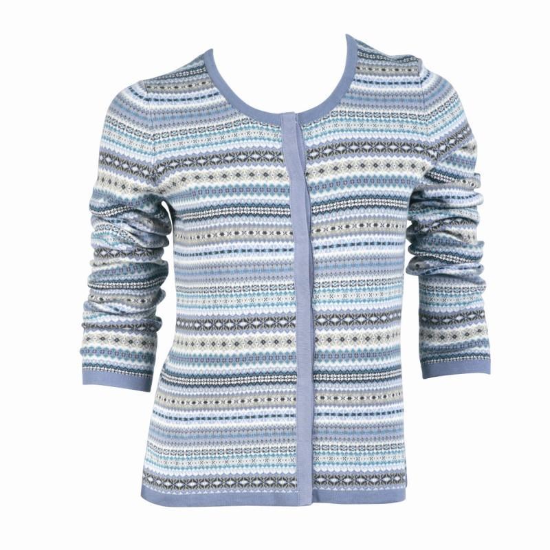 kolorowy sweter Jackpot - z kolekcji jesień-zima