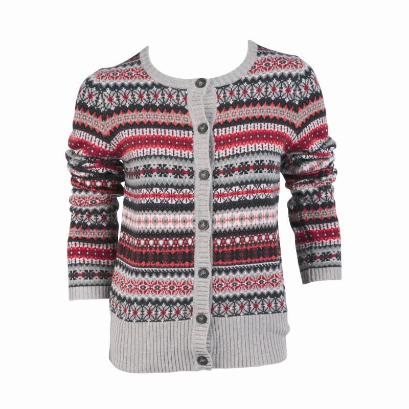 kolorowy sweter Jackpot rozpinany - moda jesień/zima 2010
