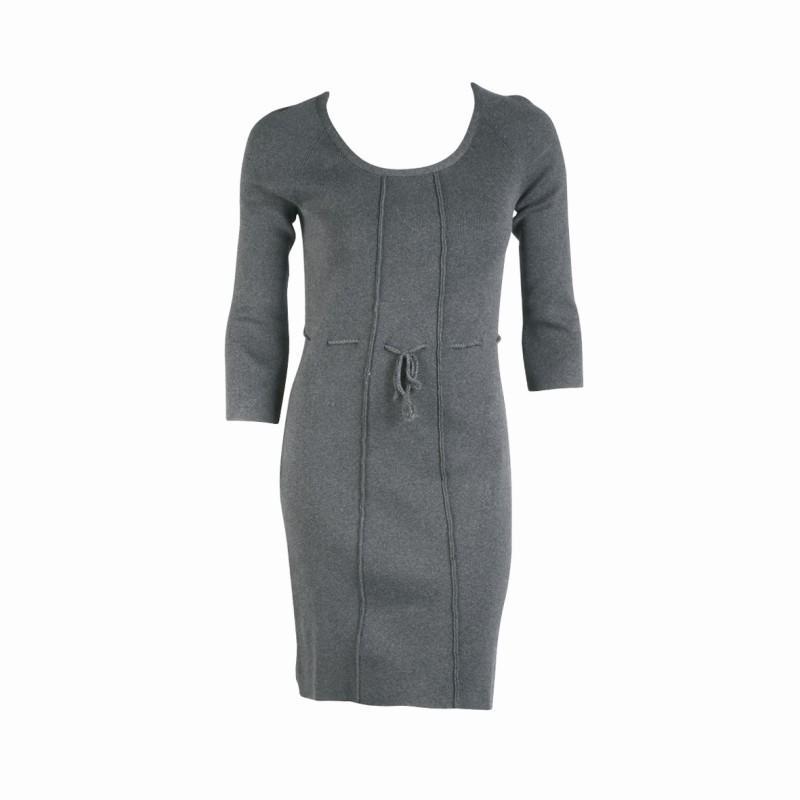 szara sukienka Jackpot - kolekcja jesienno-zimowa