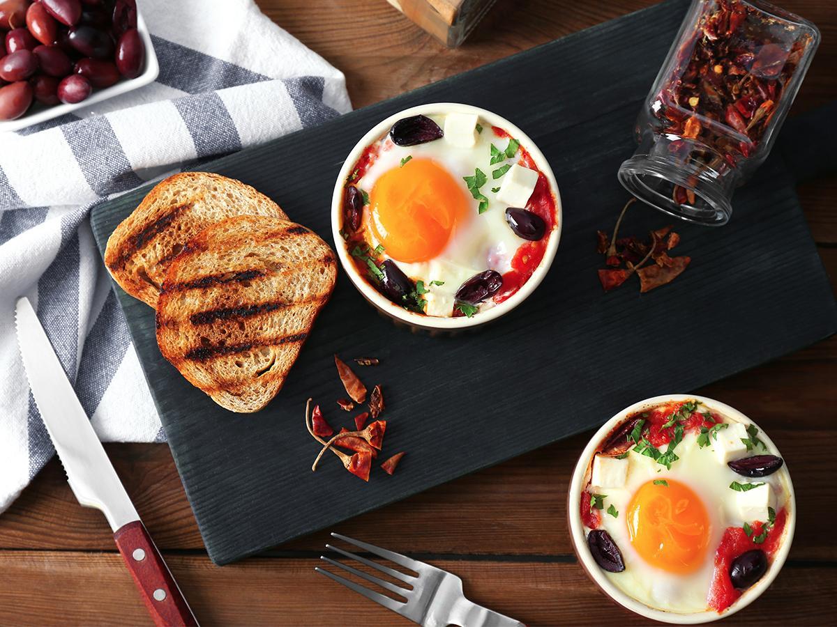 przepis na jajka w kokilkach