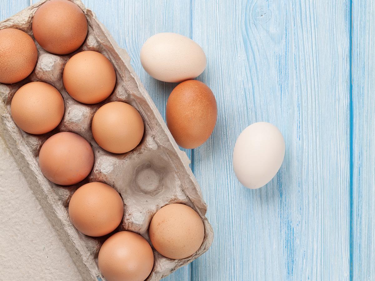 czy jajka można mrozić