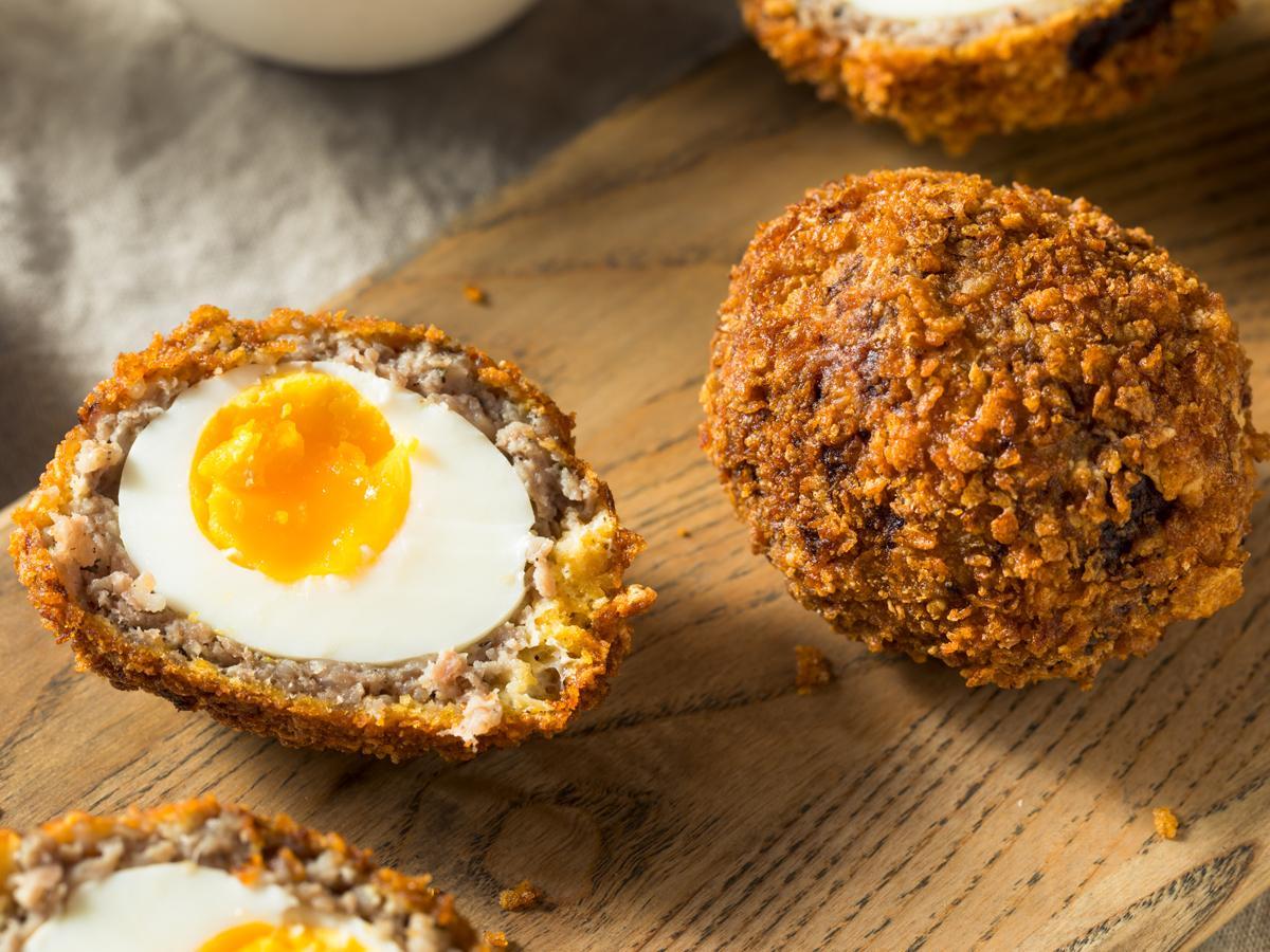 jajka wielkanocne po szkocku
