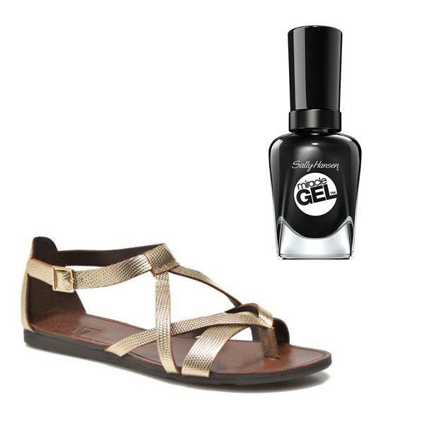 Jak dobrać lakier do paznokci do sandałków?